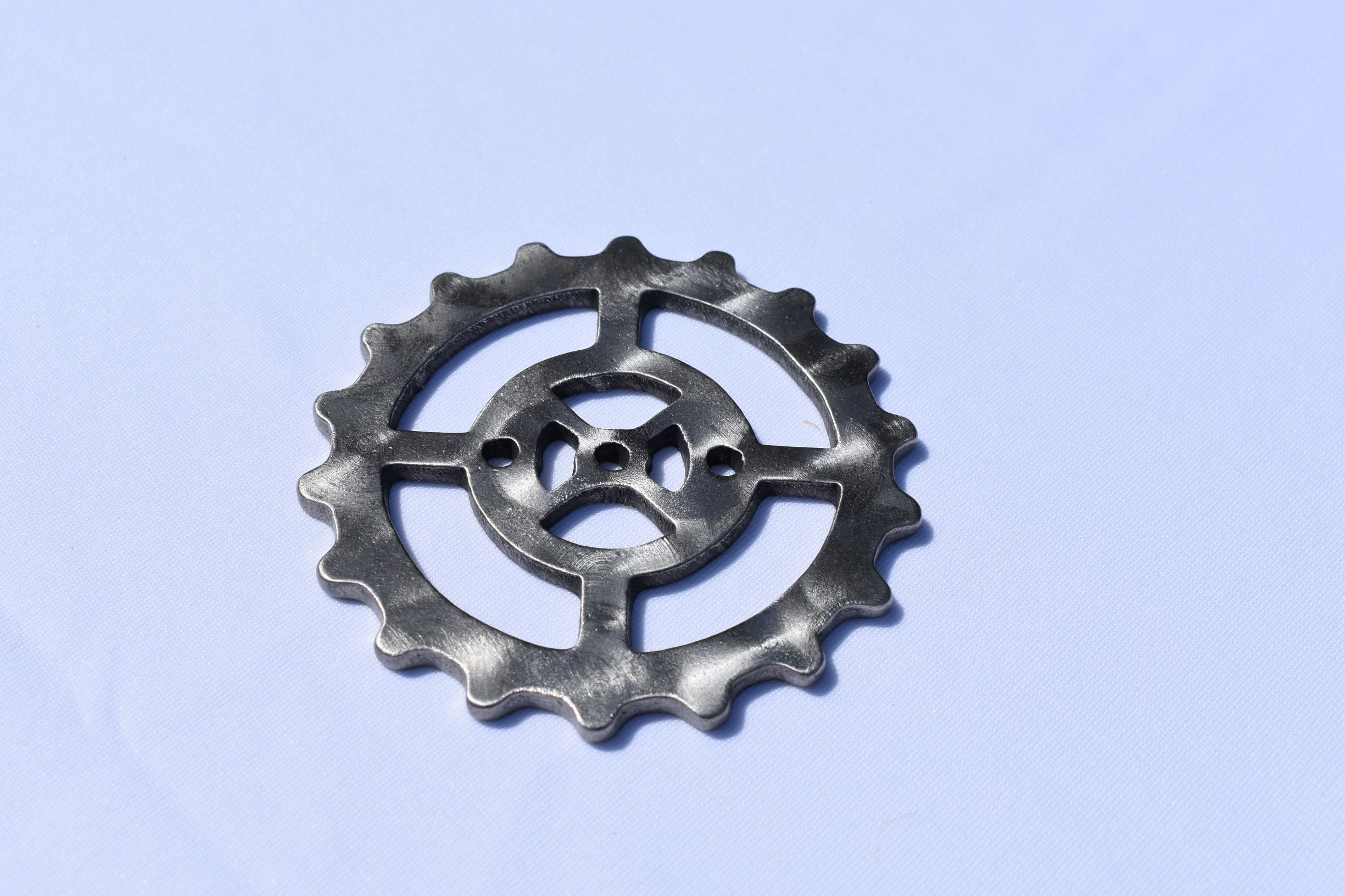 Coasters - Stainless Steel Gears Third Shift Fabrication Medium