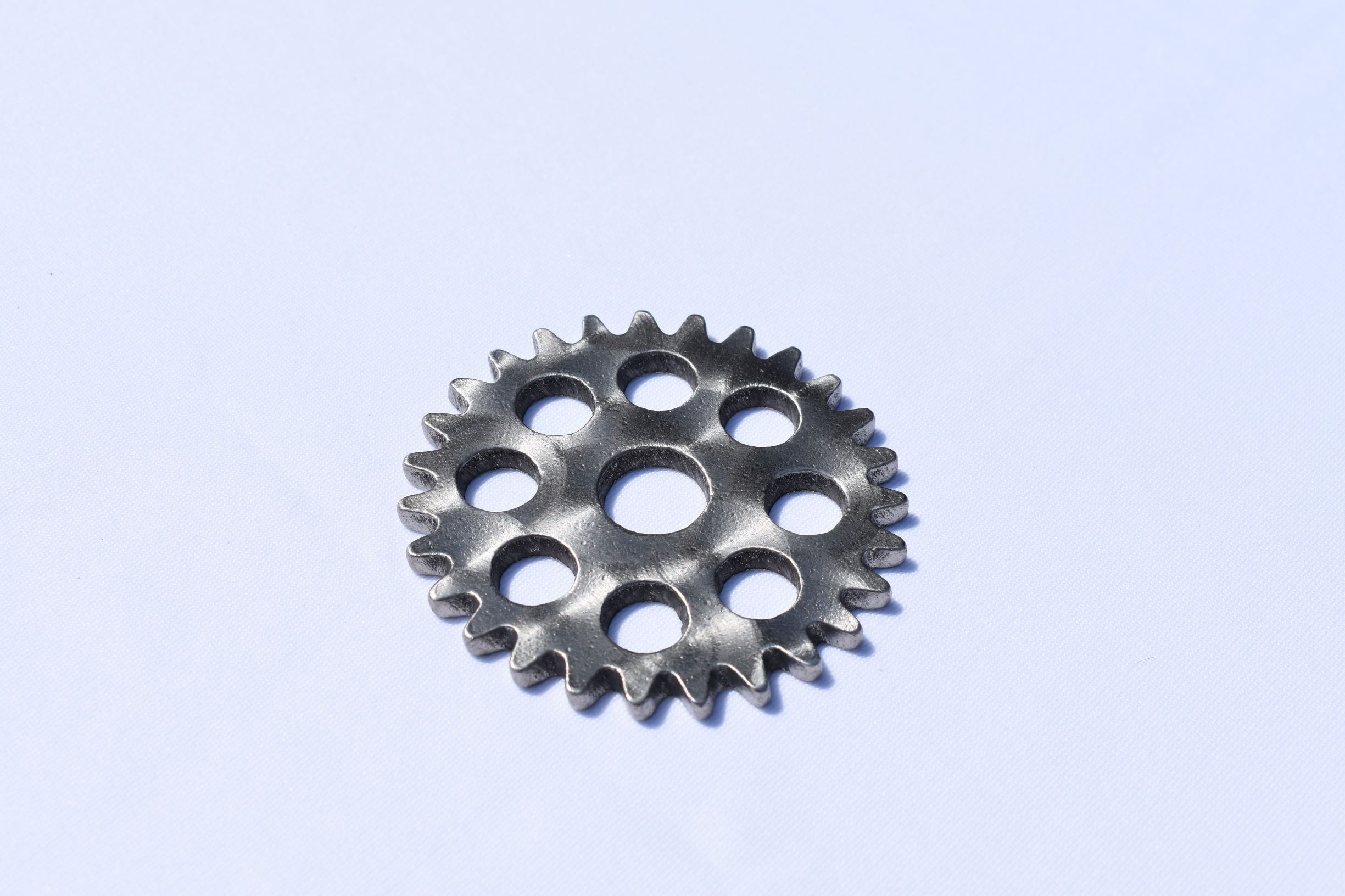 Coasters - Stainless Steel Gears Third Shift Fabrication Small