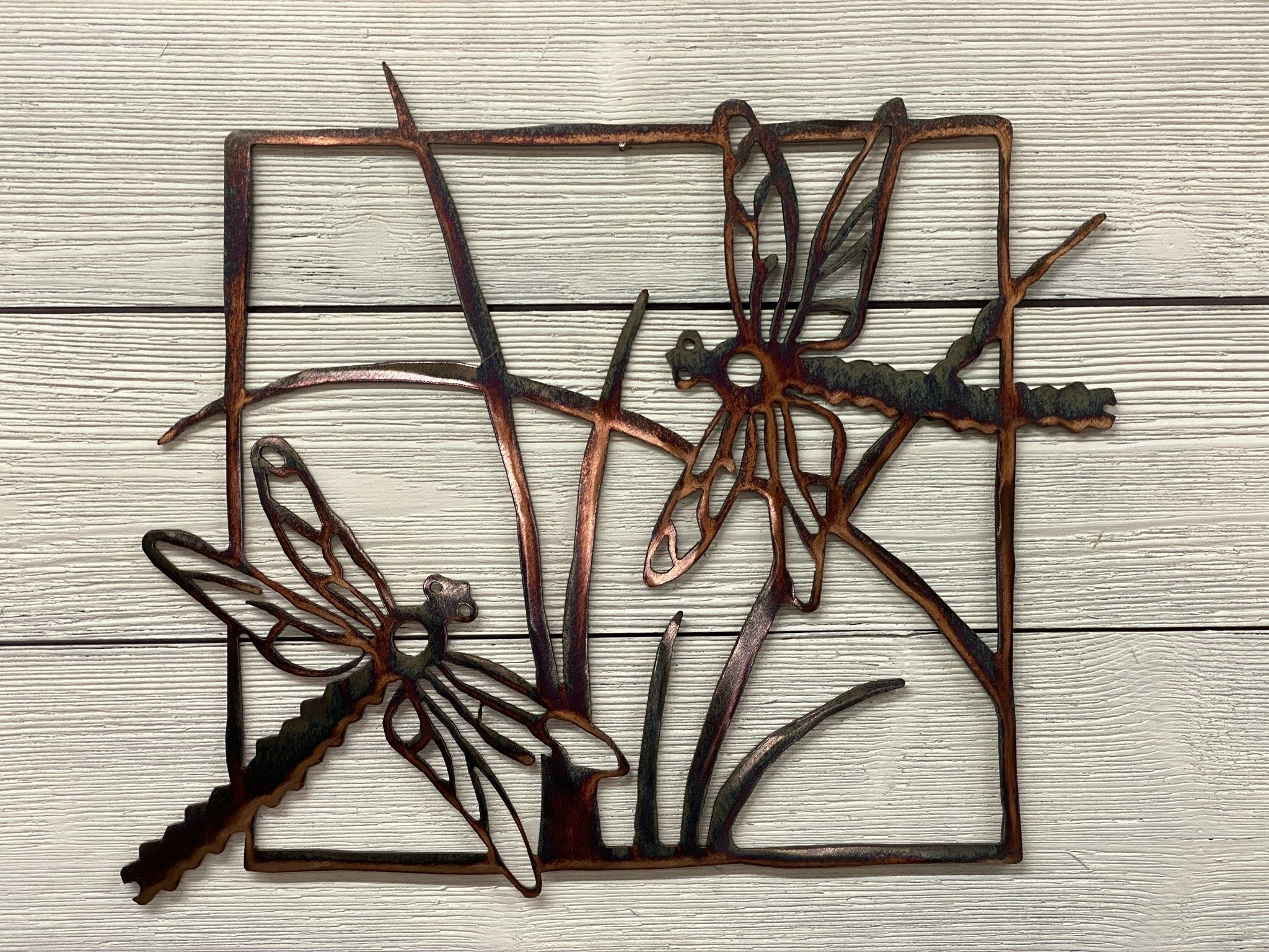Dragonflies Wall Art Third Shift Fabrication Copper River