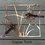 Dragonflies Wall Art Third Shift Fabrication Copper Torch