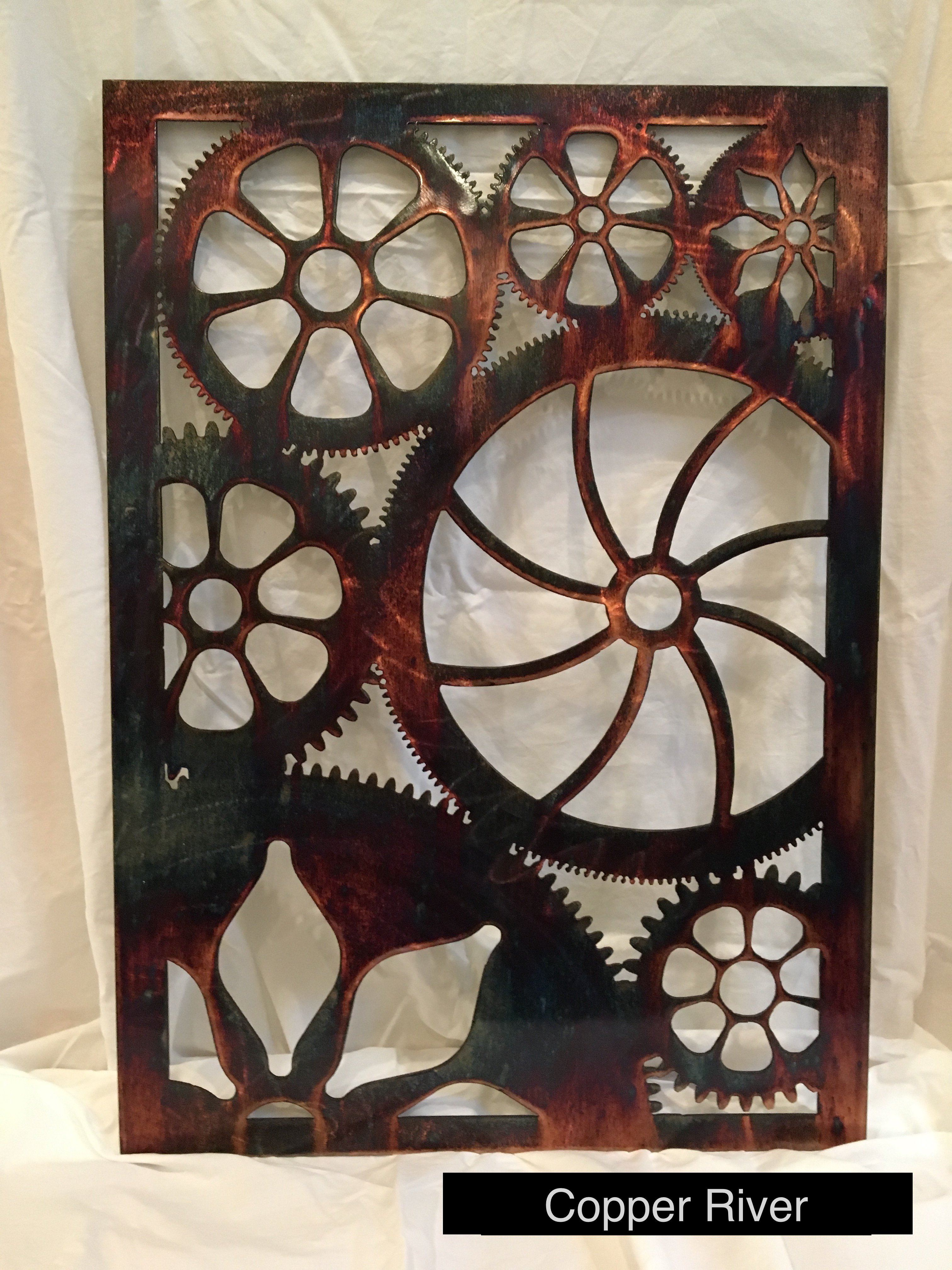 Engine House Gears Wall Art Third Shift Fabrication