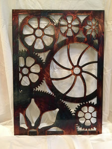 Engine House Gears Wall Art Third Shift Fabrication Copper River