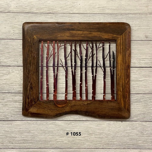 Live Edge Framed Birch Third Shift Fabrication 1055