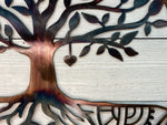 Mandala Tree of Life Wall Art Third Shift Fabrication