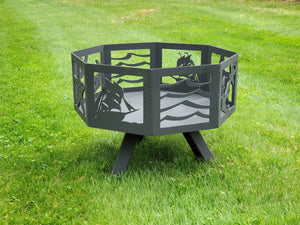 Octagon Fire Pit Fire Pit Third Shift Fabrication