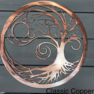 Starry Night Tree of Life Wall Art Third Shift Fabrication 15"