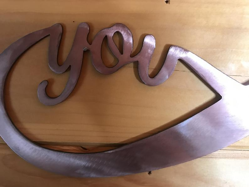 You and Me Infinity Wall Art Third Shift Fabrication