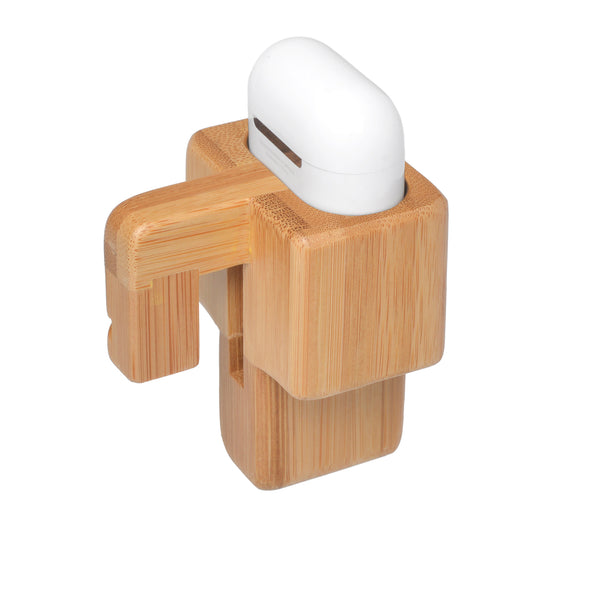 Apple Airpod Mount Bambus