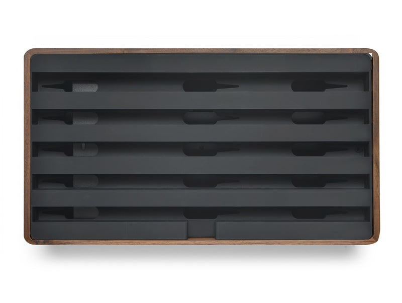 ALLDOCK Large Walnuss / Schwarz walnut black groß