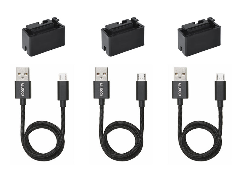 Einhand-Adapter Value-Pack (Micro USB)