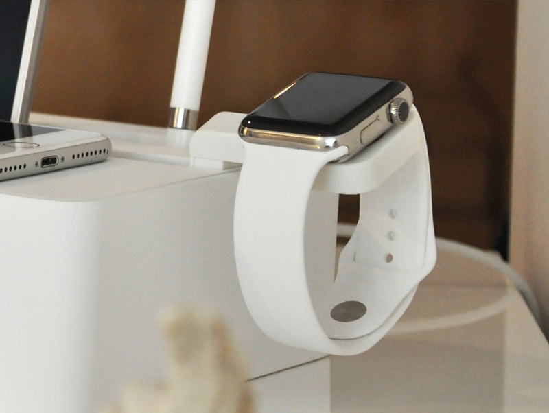 Apple Watch Mount Weiß