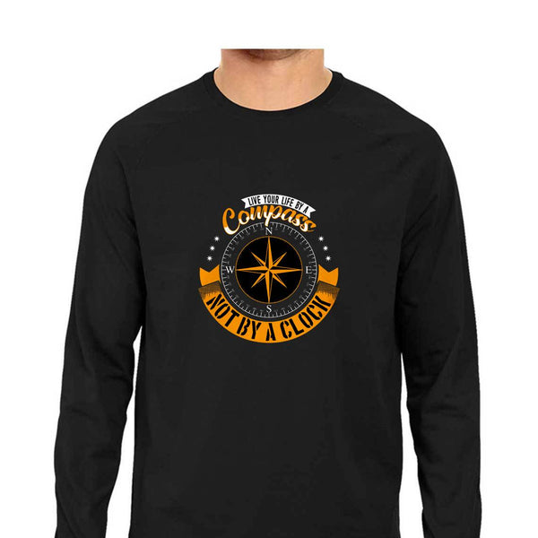 Live Your Life By A Compass T-Shirt