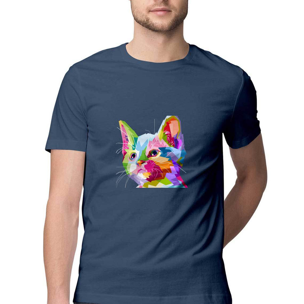 Multi Color Cat T-Shirt - MSS00002