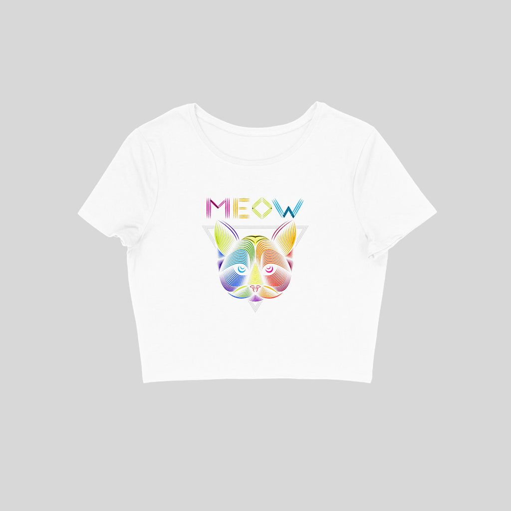 MEOW Crop Top - CT00004