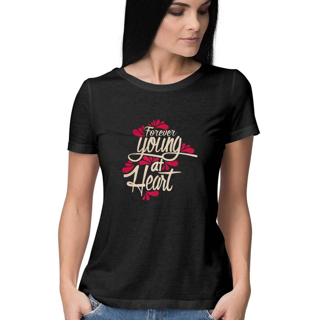 Forever Young At Heart T-Shirt - WSS00002