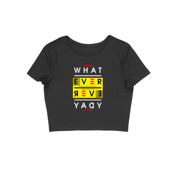 Whatever Crop Top - CT00016