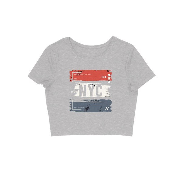 NYC Crop Top - CT00012