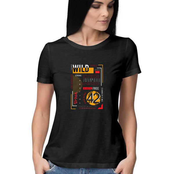 Young And Wild T-Shirt - WSS00026