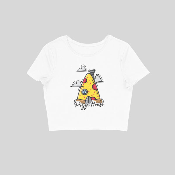Pizza House Crop Top - CT00029