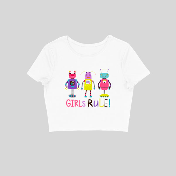Girls Rule Crop Top - CT00036