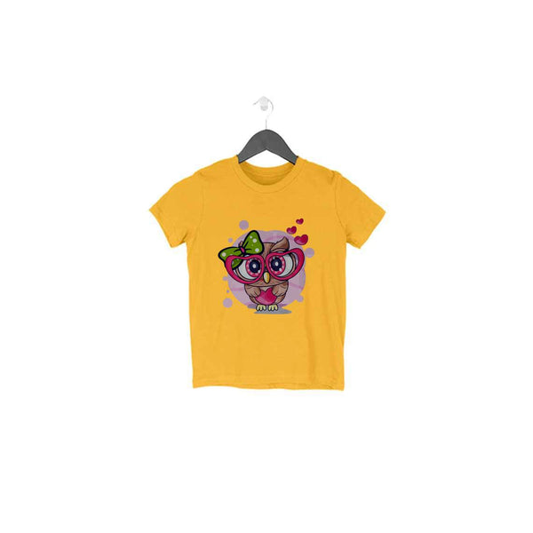 Cute Owl T-Shirt - TSS00009