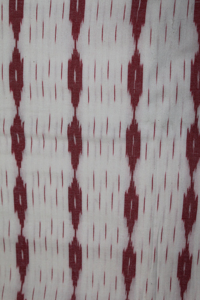 Handloom Ikat Cotton Fabric - F00018