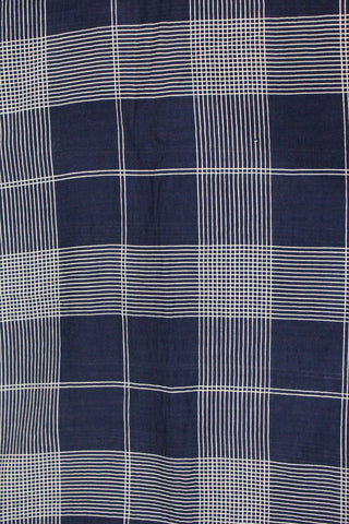 Check Printed Soft Cotton Fabric Online - F00033