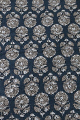 Block Printed Cotton Fabric Online - F00035