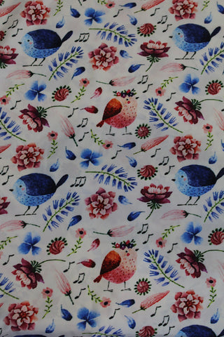 Soft Digital Printed Crepe - F00037