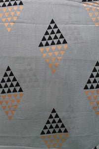 Foil Printed Soft Cotton Fabric - F00079