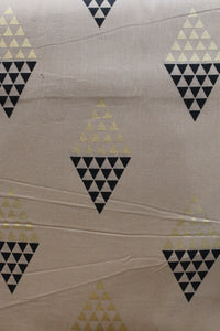 Foil Printed Soft Cotton Fabric - F00083