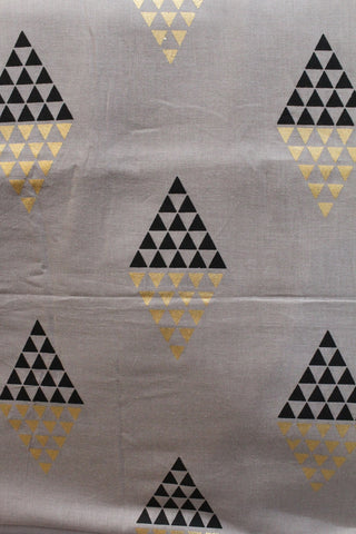 Foil Printed Soft Cotton Fabric - F00084