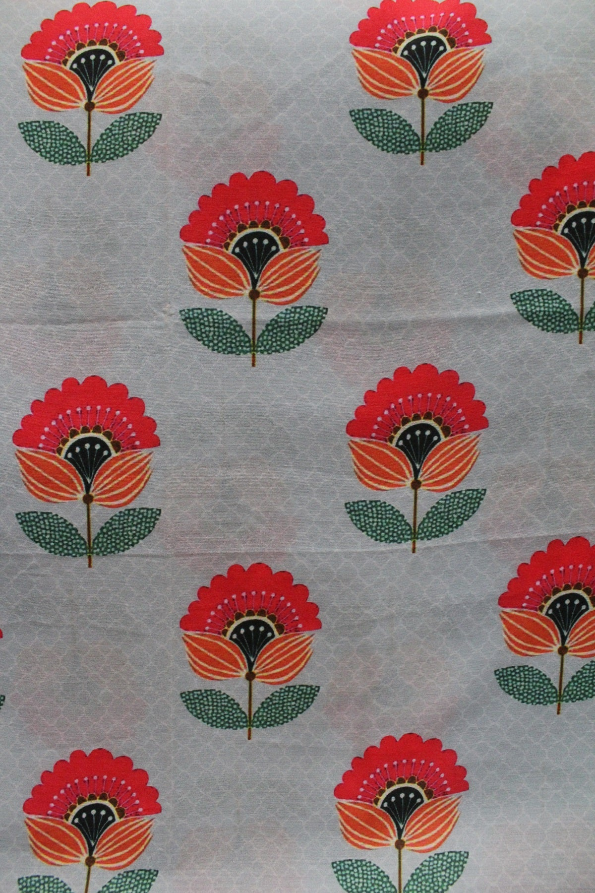 Soft Maslin Cotton Printed Fabric - F00103
