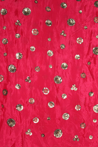 Embroidered Chinon Fabric - F00134