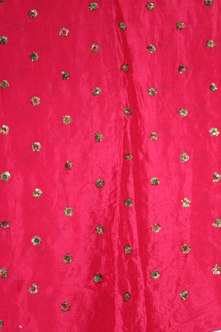 Embroidered Chinon Fabric - F00135