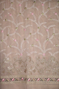 Embroidered Georgette Fabric - F00140