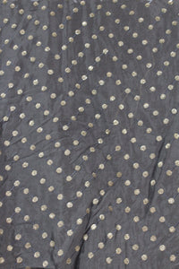 Embroidered Chinon Fabric - F00142