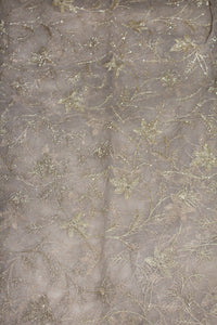 Embroidered Net Fabric - F00143