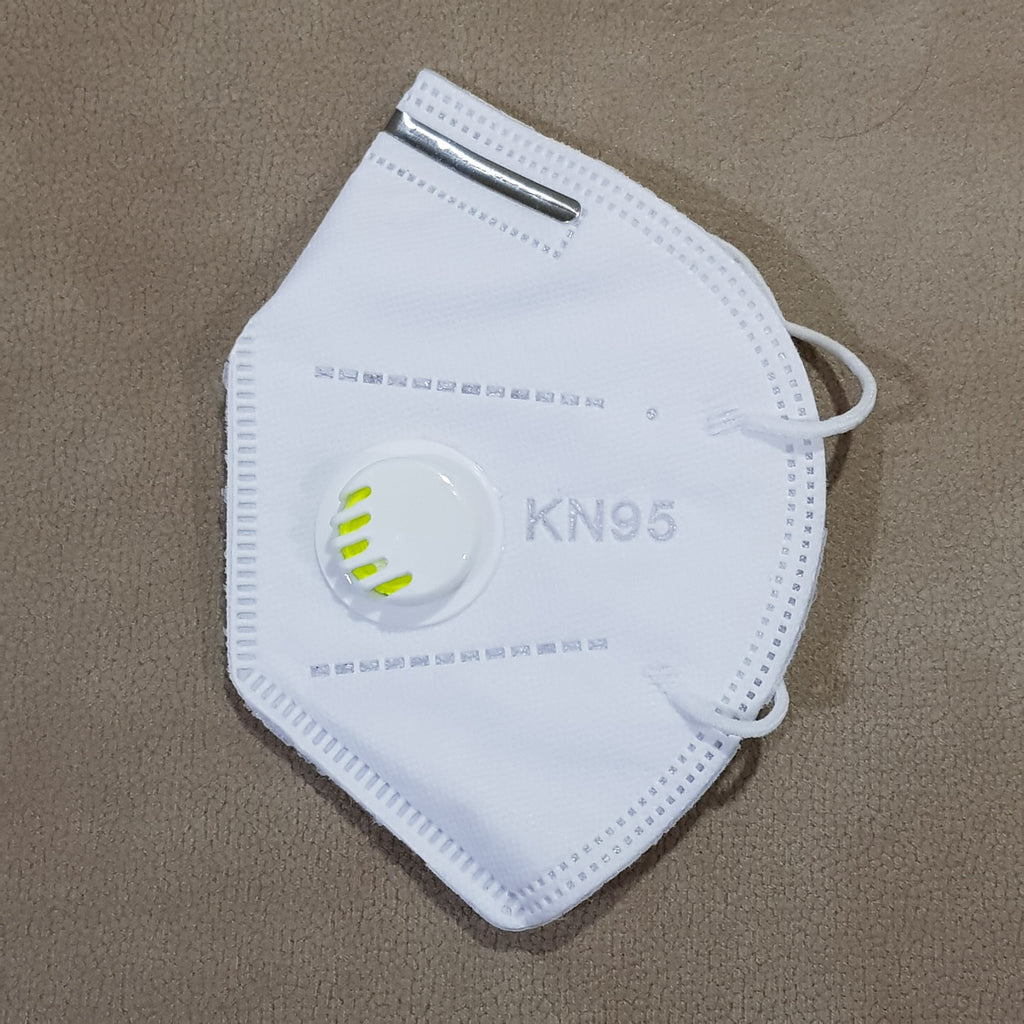 KN95 Face Mask With Breathing Valve  (1 Pc ) - H00631