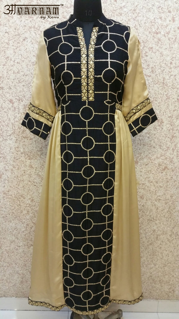 Aavarnam By Renu - Designer Embroidered Dress - 3770K00598