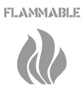 Safety Sign Flammable