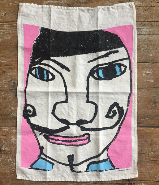 French Man Tea Towel