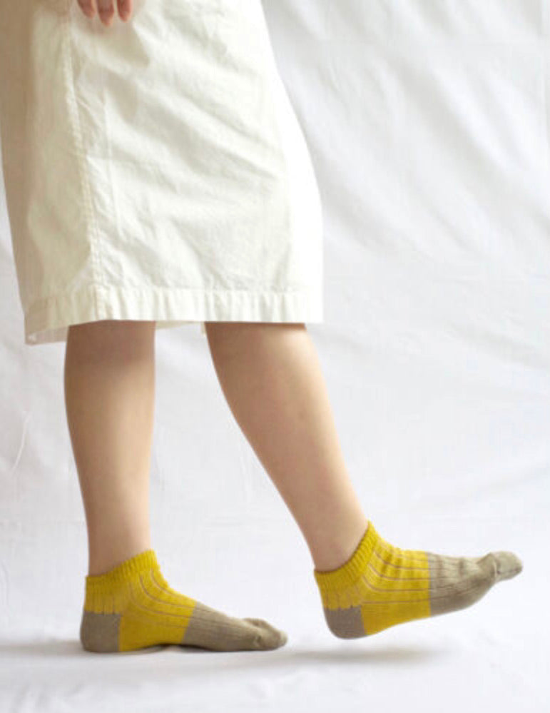 Linen/Cotton Ankle Socks