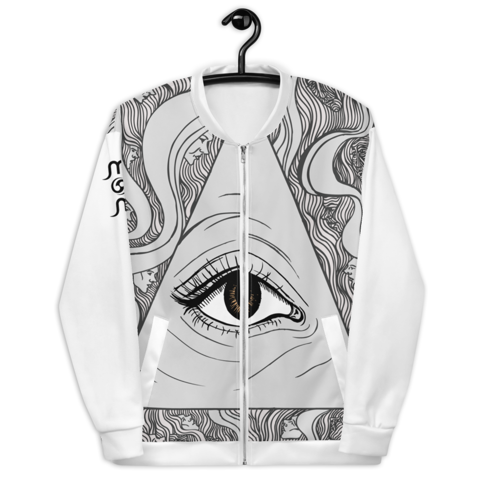 Mon Watch Out Unisex Bomber Jacket