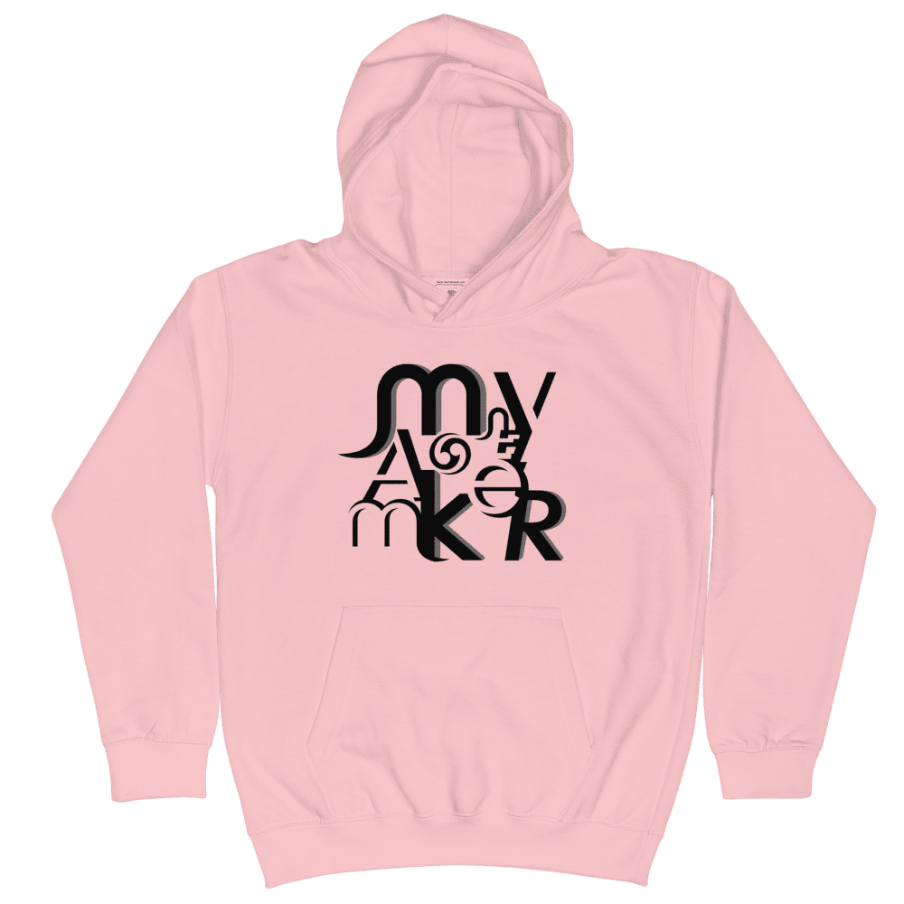 Money Maker Black Kids Hoodie