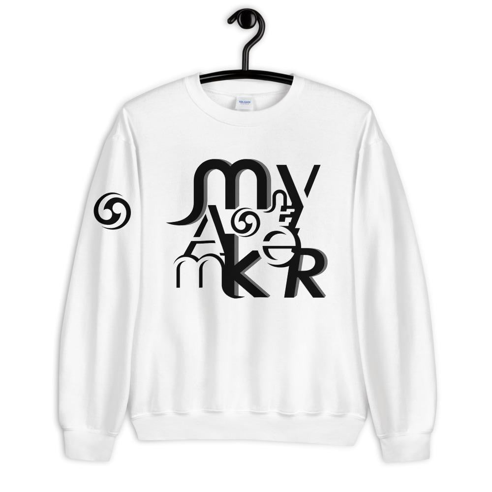 MONey Maker Unisex Sweatshirt black.
