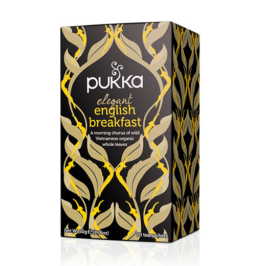 INFUSIÓN ORGÁNICA ELEGANT ENGLISH BREAKFAST // Pukka
