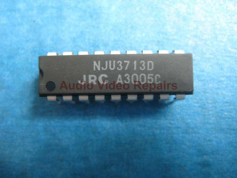 NJU3713D Counter Shift Registers 12bit Serial to Parallel
