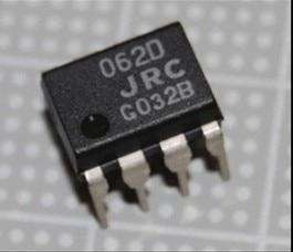 JRC062D J-FET INPUT OPERATIONAL AMPLIFIER