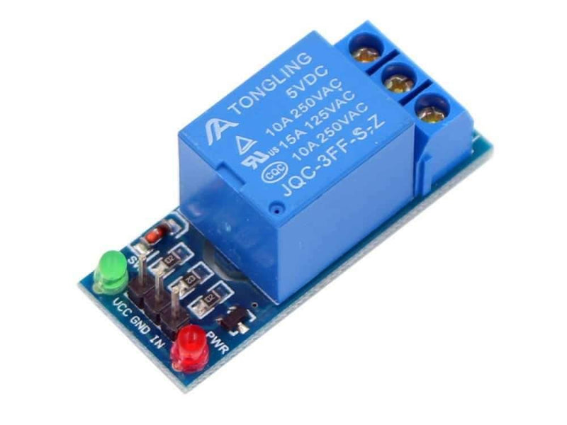 1 CHANNEL RELAY MODULE 5VDC - BESOMI ELECTRONICS
